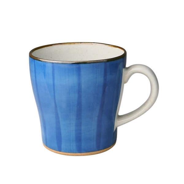天龍 巻ねこ マグカップ 青