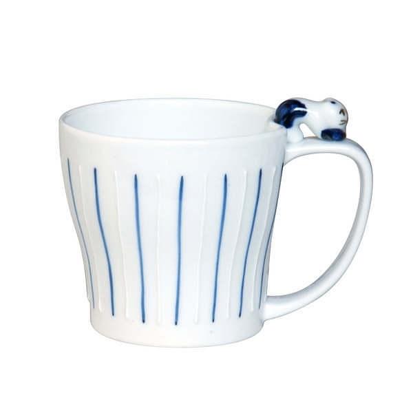仙右ェ門 十草ねこ マグカップ ブルー