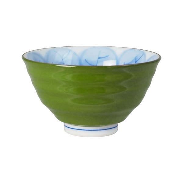 福峰 木の葉ふくろう 茶付 緑