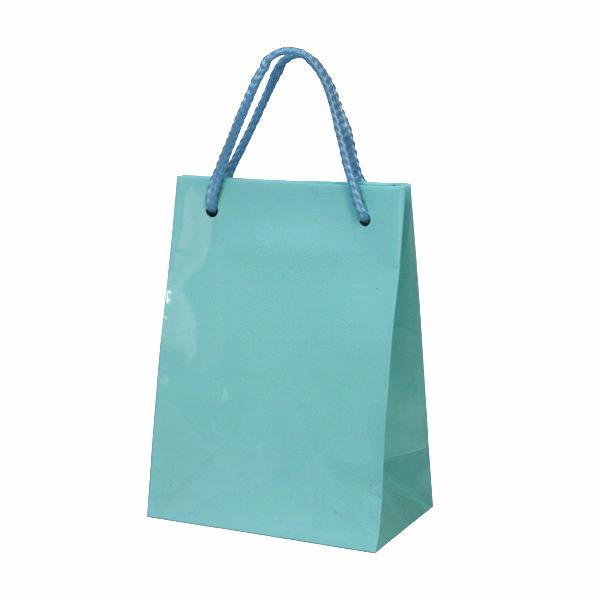 ペーパーバッグ ミニ ブルー