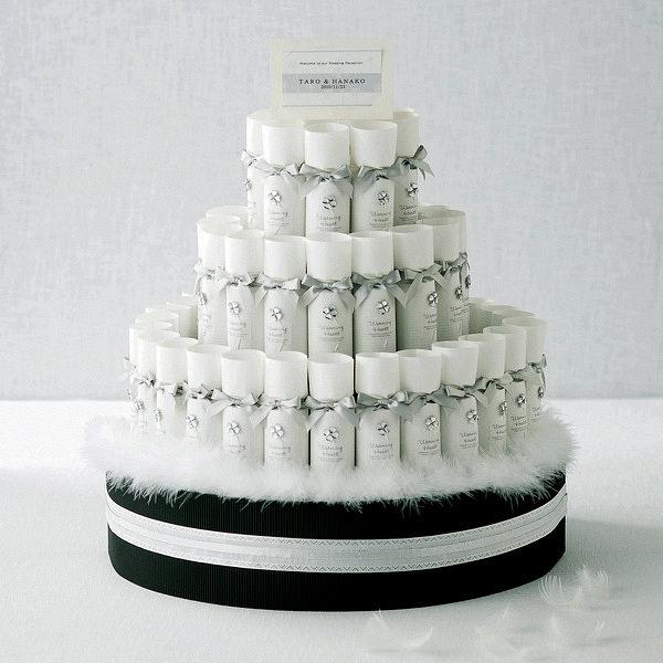 純白の誓い 50個 ケーキ型台付きセット