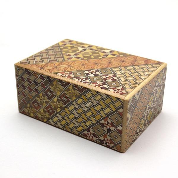 箱根寄木 秘密箱 4寸サイズ 10回仕掛け