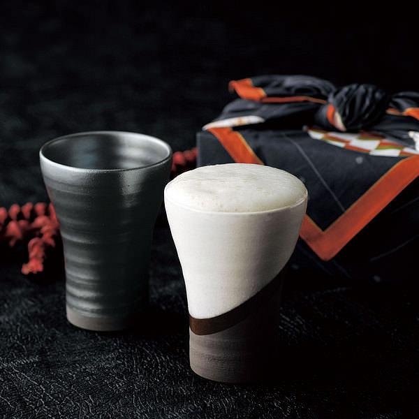 夢紀行 ペアビアカップ (風呂敷付)