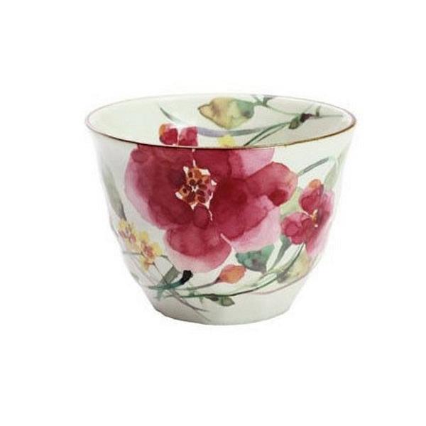 花水彩 煎茶 シュウメイ菊