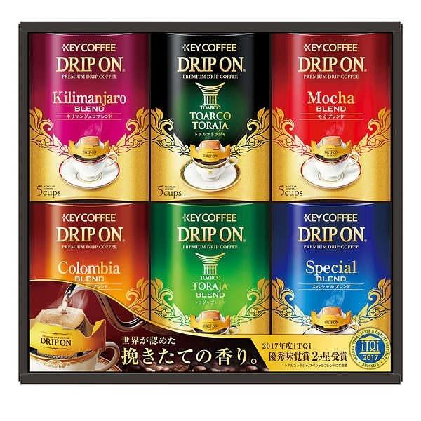 キーコーヒー ドリップオン・レギュラーコーヒーギフト KDV-30N