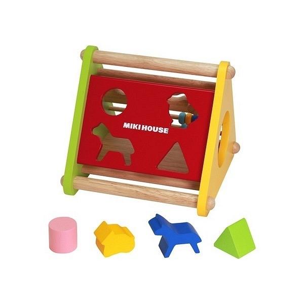 ミキハウス 木製パズル