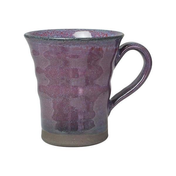 純道 紫釉 切立マグカップ