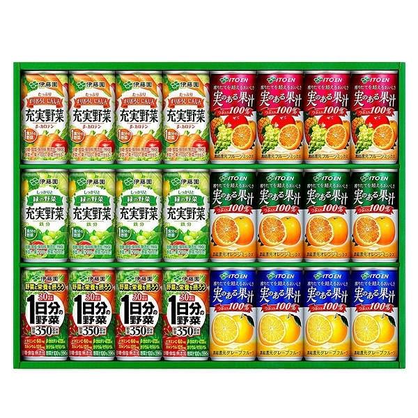 伊藤園 実のある果汁・充実野菜詰合せ YMK-30F
