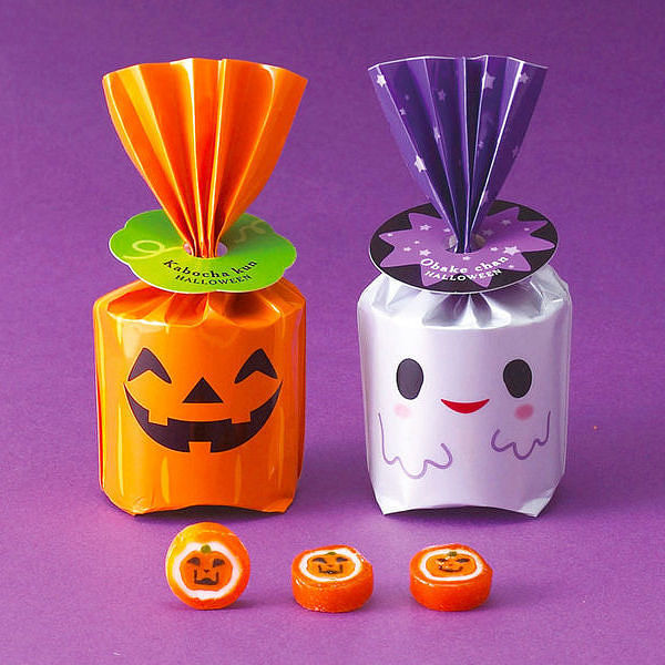 かぼちゃクン・おばけチャン