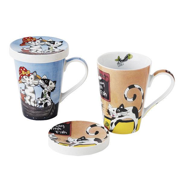 コニッツ ペアマグカップ ネコ