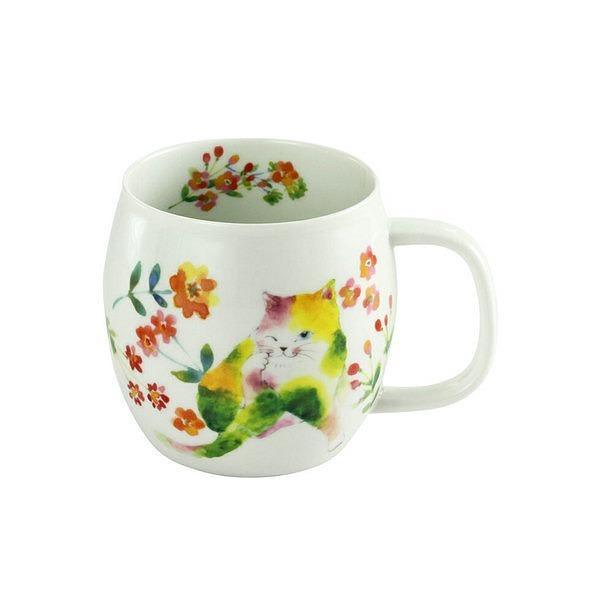 花猫 マグカップ イエロー