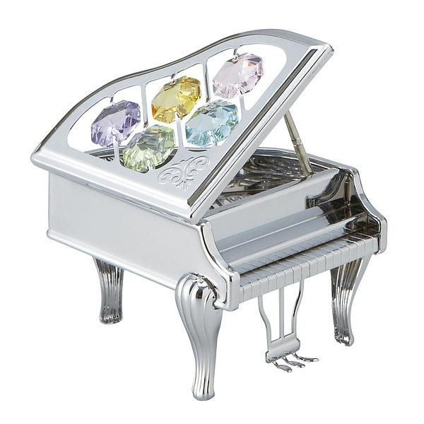 CRYSTOCRAFT ピアノ ゴールド