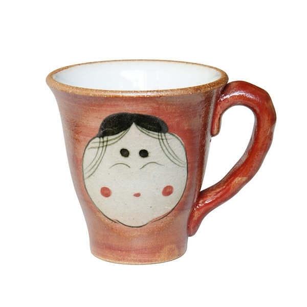 馬場工房 福女 マグカップ