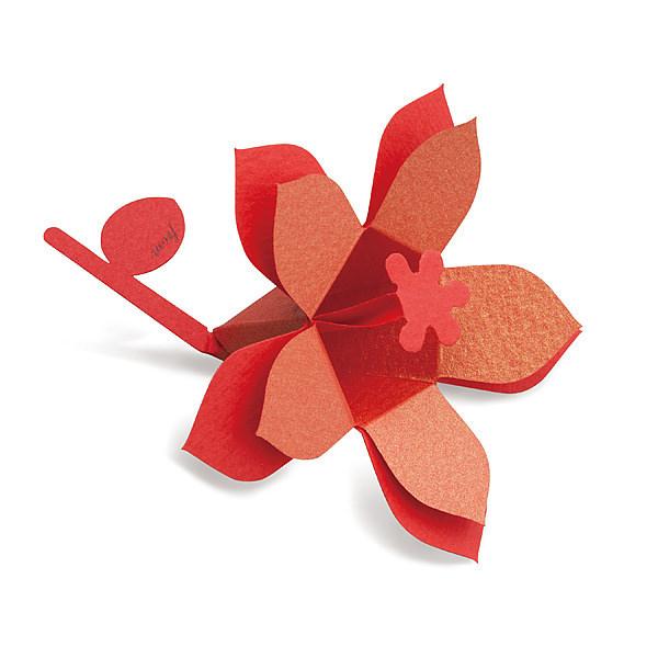 花言葉 ブーケ Hana-kotoba Bouquet (gold red) 10枚入