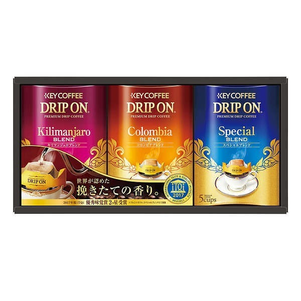 キーコーヒー ドリップオン・レギュラーコーヒーギフト KDV-15N