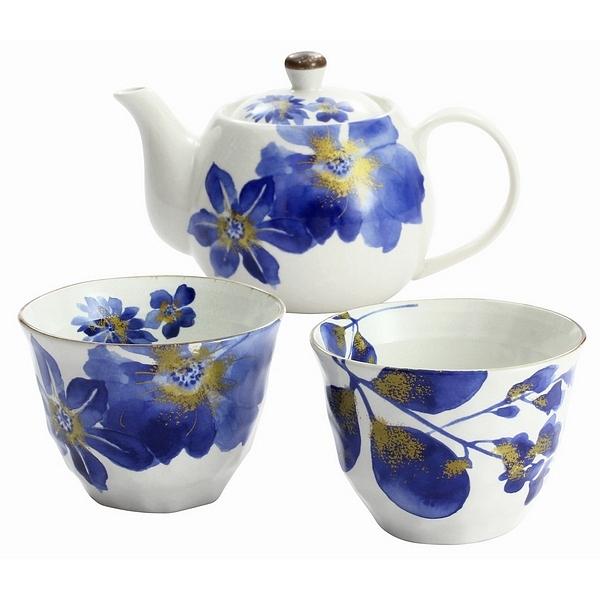 藍華 ペアポット茶器