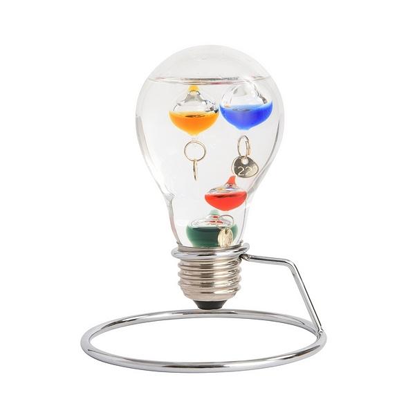 ガラスフロート温度計 電球