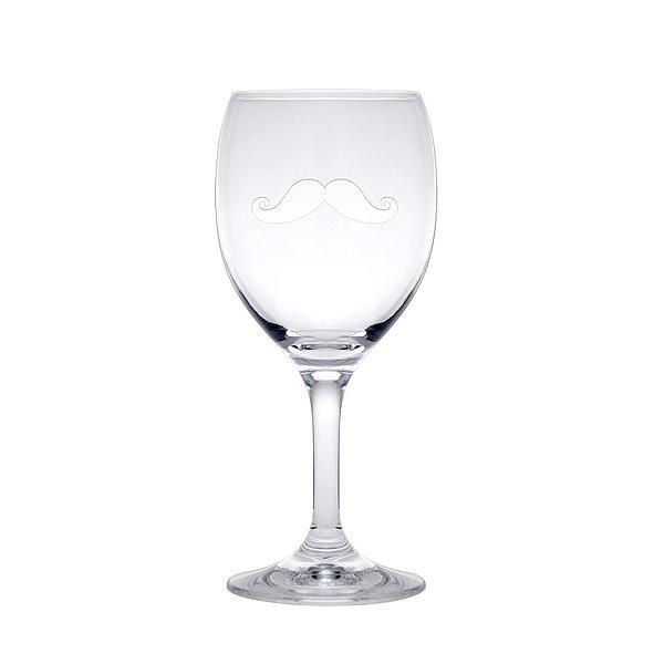 ヒゲ デザイン ワイングラス