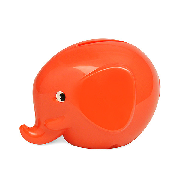 NORSU Elephant Bank S ディープオレンジ
