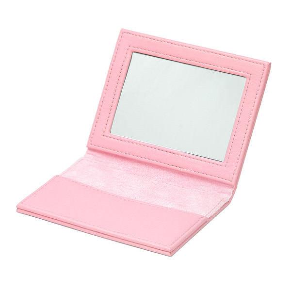 コンパクトミラー ピンク