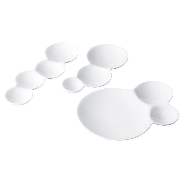 メタフィス x ミヤマ savone  仕切り皿3種ギフト