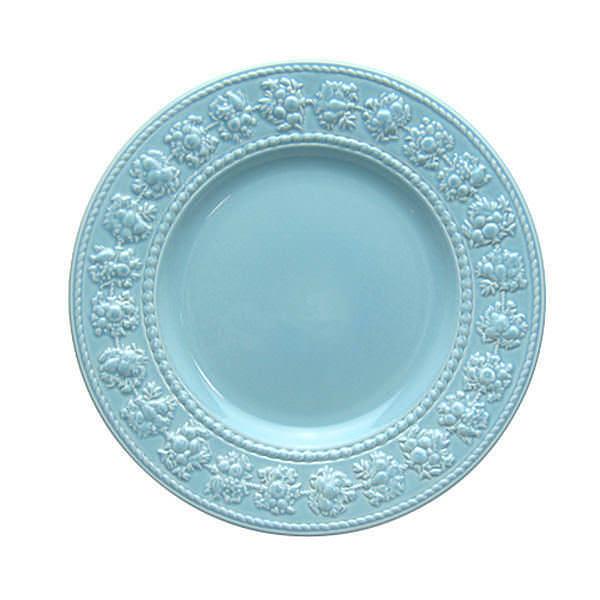 ウェッジウッド クイーンズウェア コレクション フェスティビティ ブルー プレート 20cm