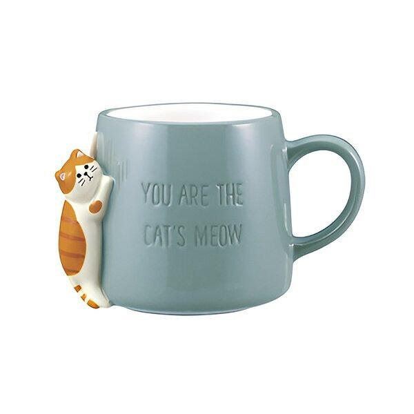 しっぽマグ&ひっかけ箸置き 三毛猫