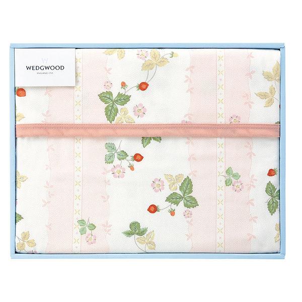 ウェッジウッド  綿毛布1枚 ピンク