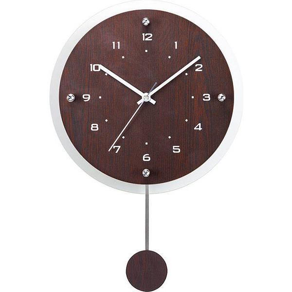 電波時計 アンティール ブラウン