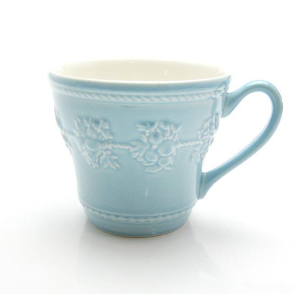 ウェッジウッド フェスティビティ ブルー マグカップ