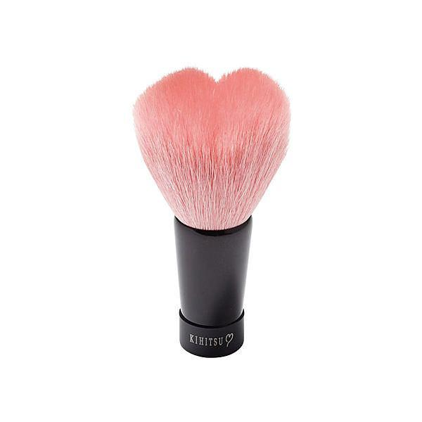 熊野筆 KIHITSU ハート洗顔ブラシ ピンク
