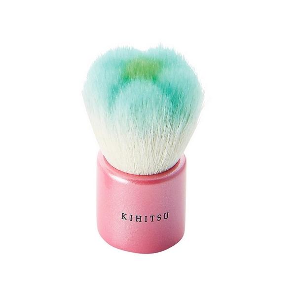 熊野筆 KIHITSU フラワー洗顔ブラシ ミント
