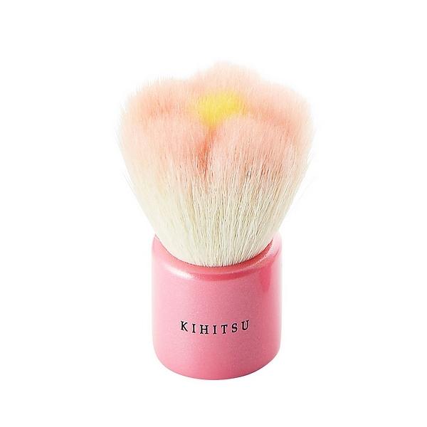 熊野筆 KIHITSU フラワー洗顔ブラシ ピンク