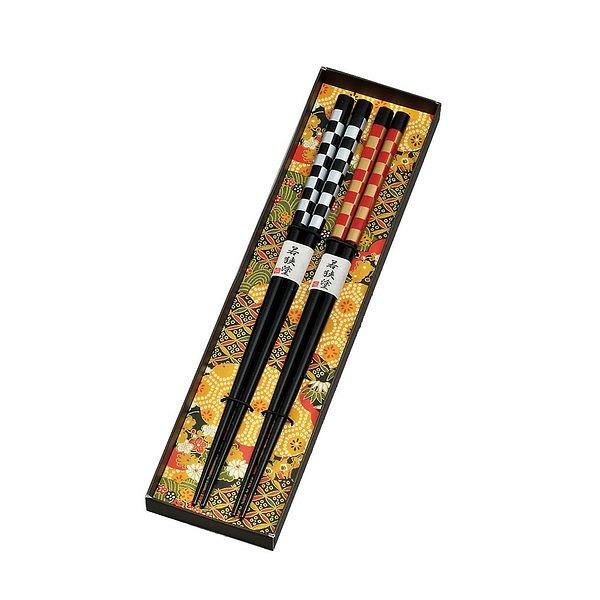 市松模様 ペア箸