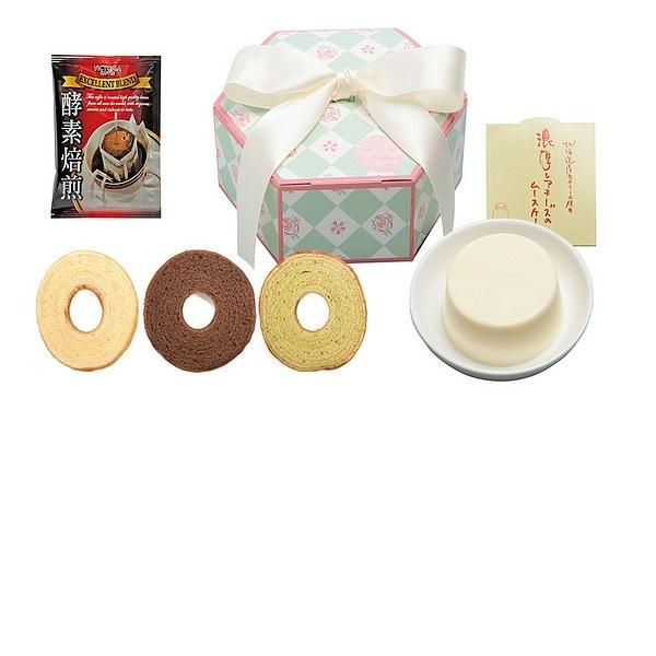 シュクフール 濃厚レアチーズケーキ&ミニバウム・カフェ10A