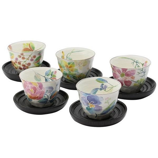 花ことば 茶托付煎茶