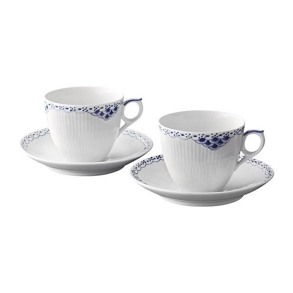 ロイヤルコペンハーゲン プリンセス コーヒーカップ&ソーサー ペア