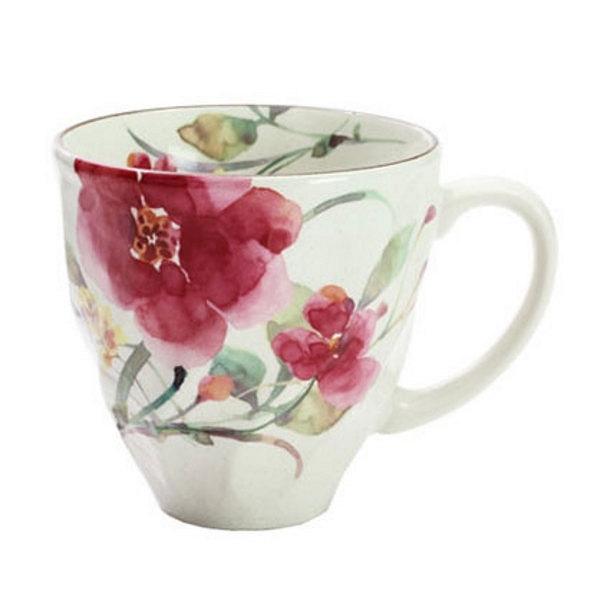 花水彩 マグカップ  シュウメイ菊