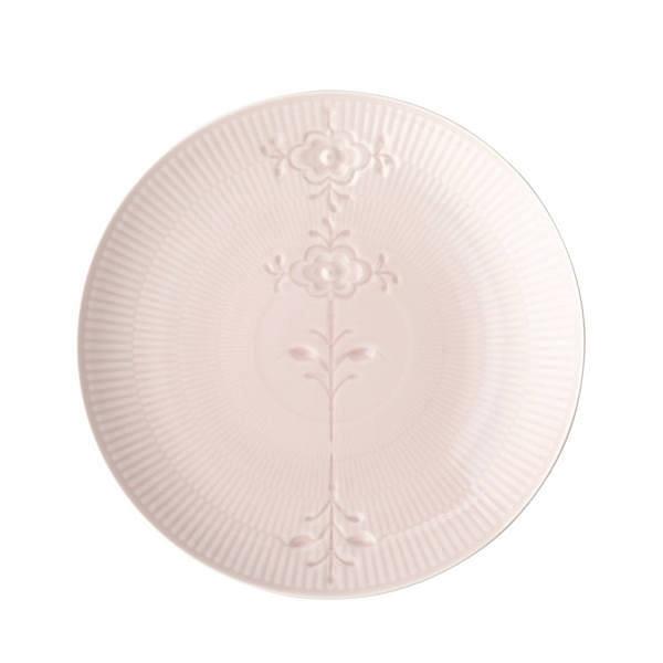 ロイヤルコペンハーゲン フラワーエンブレム クープ プレート 23 cm ピンク