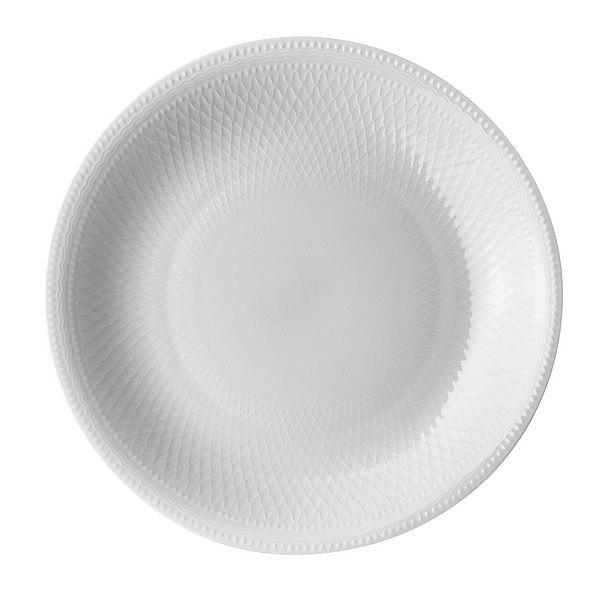 ロイヤルコペンハーゲン ホワイトパルメッテ プレート 26 cm