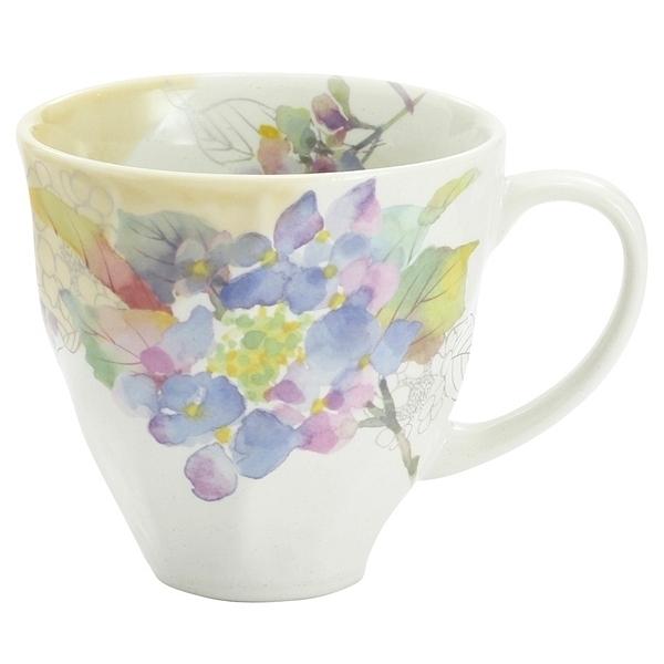 花みさき マグカップ アジサイ