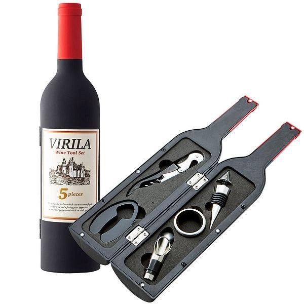 ヴィリーラ ワインボトル型ツール5点セット