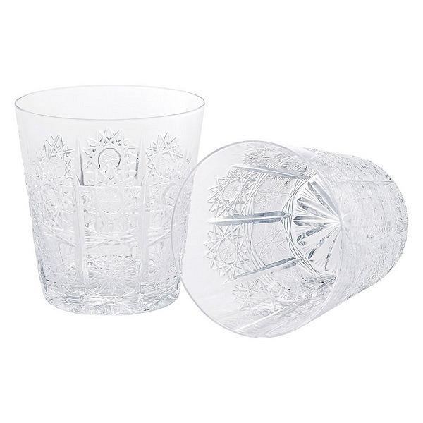 ラスカボヘミア ペアオールドグラス