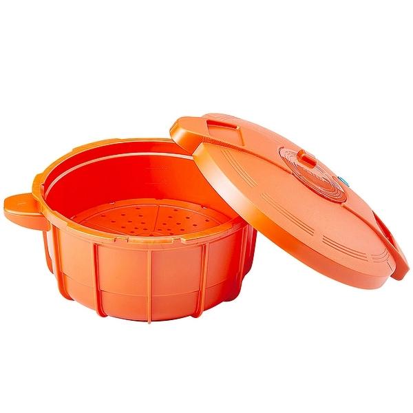 マイヤー 電子レンジ圧力鍋 パンプキンオレンジ