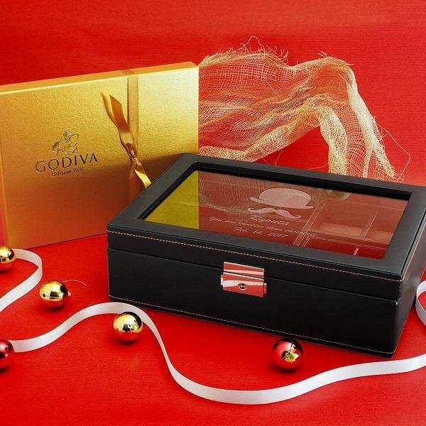 オンリーワンなメンズボックスとゴディバチョコのバレンタインギフト