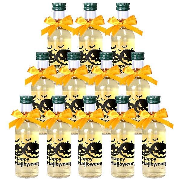 ハロウィン ミニボトル 白ワイン 12本セット