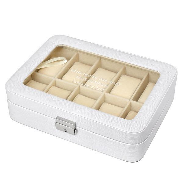 ウォッチボックス ホワイト L