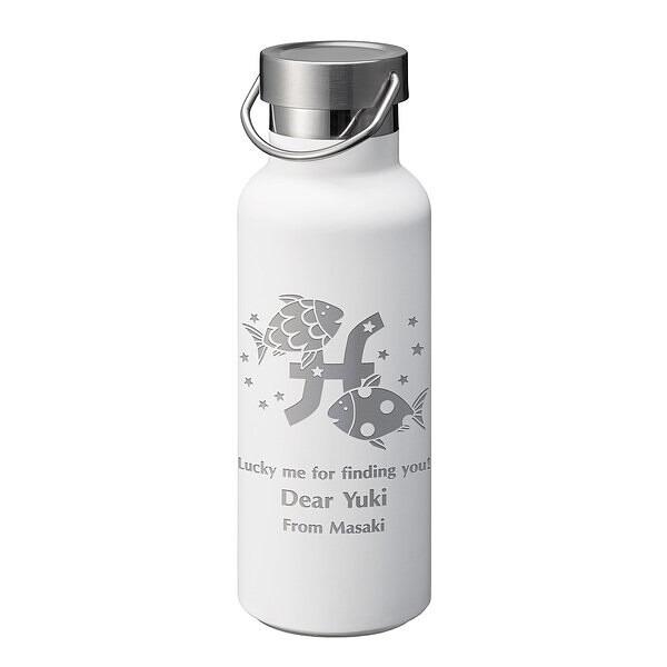 カップサーモボトル ホワイト