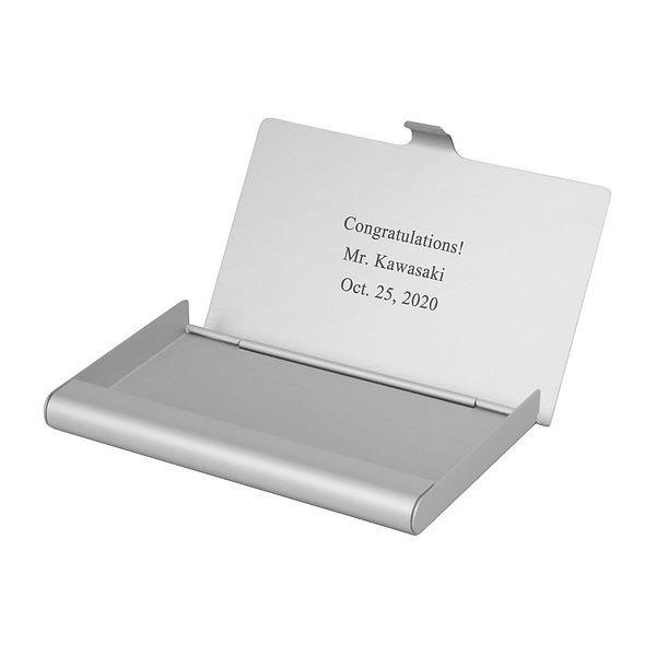 カードケース アルミニウム シルバー