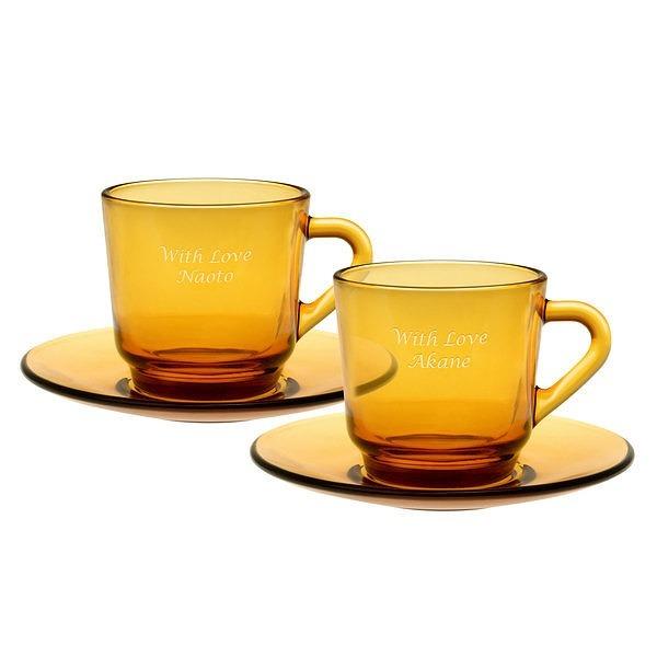 コーヒーカップ&ソーサー ペア